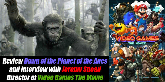 Dawn of the Planet of the Apes and Video Games The Movie Jeremy Snead Interview