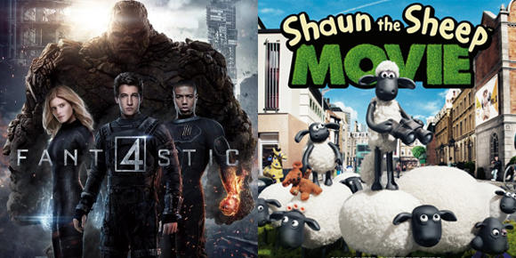 We review Shaun the Sheep & Fantastic Four
