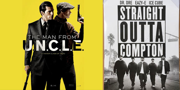 The Man from U.N.C.L.E and Straight Outta Compton